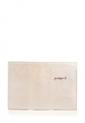 Обложка для паспорта Zarina. Цвет: бежевый