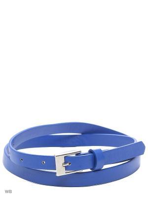 Ремень Colin's. Цвет: синий, голубой