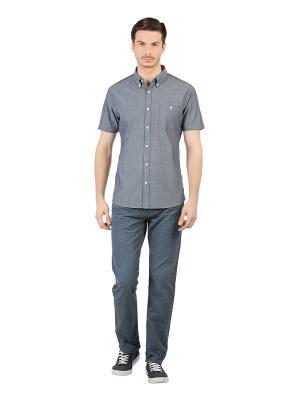 Рубашка Colin's. Цвет: голубой