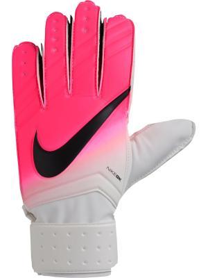 Вратарские перчатки NIKE GK MATCH. Цвет: белый, розовый