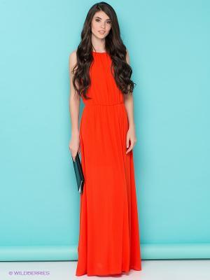 Платье Love Republic. Цвет: оранжевый