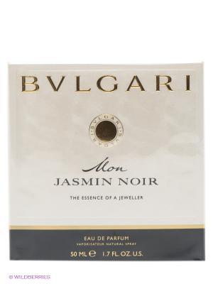 Парфюмерная вода Bvlgari Mon Jasmin Noir, 50 мл. Цвет: прозрачный
