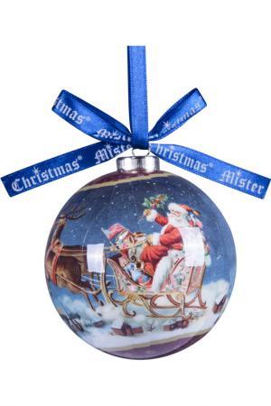 Набор шаров Mister Christmas. Цвет: синий, бордовый
