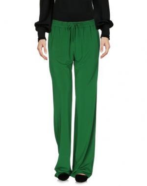 Повседневные брюки PF PAOLA FRANI. Цвет: зеленый