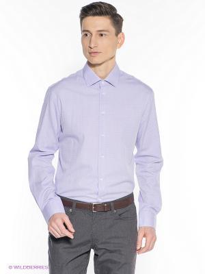 Рубашка INCITY. Цвет: сиреневый