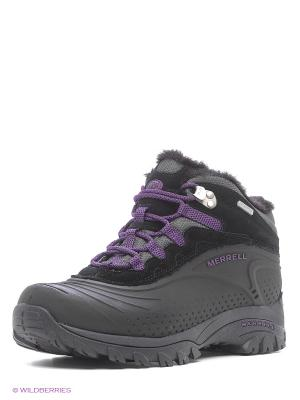 Ботинки MERRELL. Цвет: черный, темно-фиолетовый
