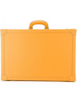 Кожаный кейс для солнцезащитных очков Family Affair. Цвет: коричневый