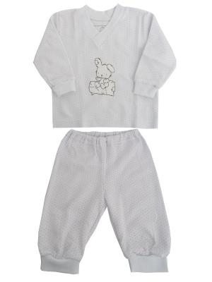 Пижама NICE-KID. Цвет: бледно-розовый