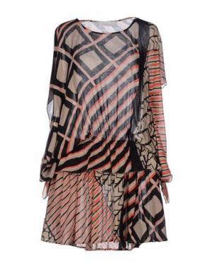 Короткое платье THAKOON ADDITION. Цвет: бежевый