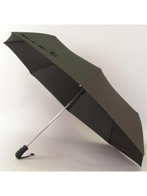 Зонт Magic Rain,Мужской, 3 сложения, Полный Автомат, Полиэстер Rain. Цвет: черный