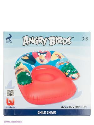 Надувное кресло для плавания Angry Birds Bestway. Цвет: красный