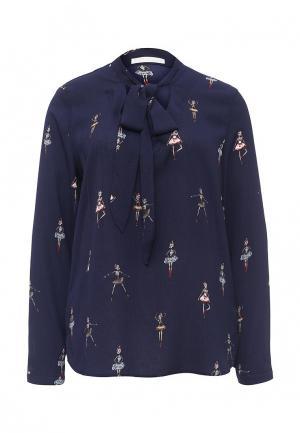 Блуза Coco Nut. Цвет: синий