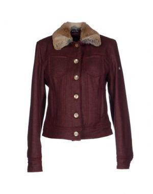 Пиджак CALVARESI. Цвет: красно-коричневый