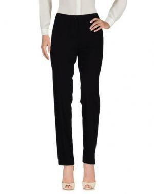 Повседневные брюки DEEP BLUE. Цвет: черный