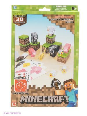Конструктор Дружелюбные мобы 30 деталей. Майнкрафт Minecraft. Цвет: зеленый