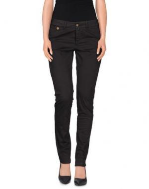 Повседневные брюки KUBERA 108. Цвет: темно-коричневый