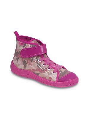 Кеды Befado. Цвет: розовый, бежевый