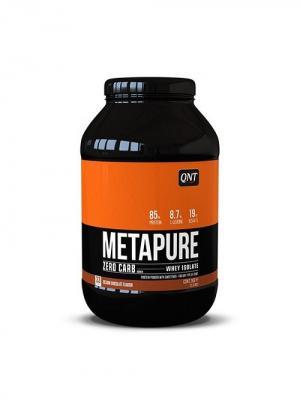 Протеин QNT  Metapure Zero Carb (белый шоколад) 1 кг. Цвет: черный, белый, оранжевый
