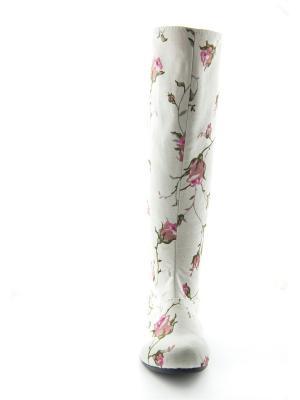 Сапоги AZ-ART. Цвет: розовый, белый
