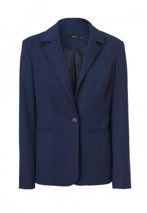 Пиджак Emka. Цвет: синий