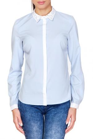 Рубашка Ambigante. Цвет: голубой