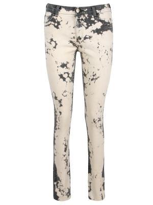 Зауженные джинсы GUCCI. Цвет: разноцветный