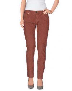 Повседневные брюки SHIELD. Цвет: пастельно-розовый