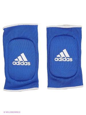 Защита локтя двухсторонняя Reversible Elbow Guard Padded Adidas. Цвет: красный, синий