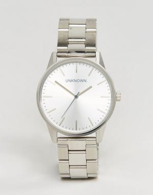 UNKNOWN Часы Classic. Цвет: серебряный