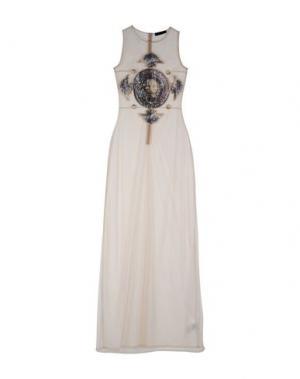 Длинное платье ANT PITAGORA. Цвет: телесный