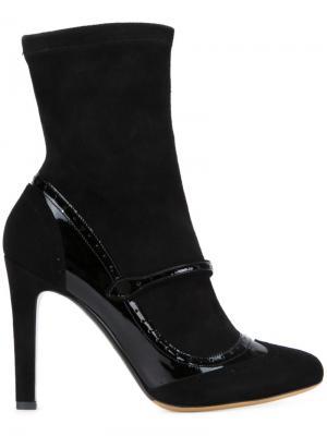 Ботинки Kessie Tabitha Simmons. Цвет: чёрный