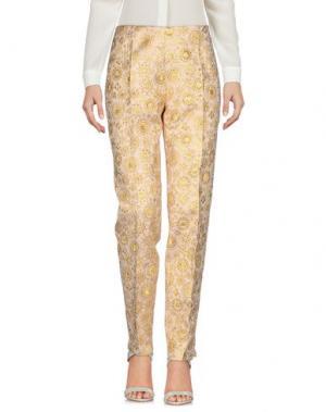 Повседневные брюки ANTONIO BERARDI. Цвет: платиновый