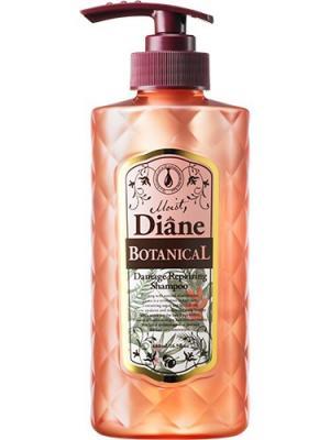 Шампунь для волос Moist Diane Botanical Damage Repairing. Природное восстановление. Series. Цвет: розовый