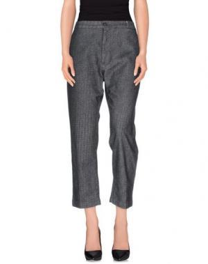 Повседневные брюки TRUE NYC.. Цвет: стальной серый