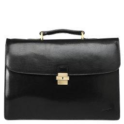 Портфель  7728B черный GERARD HENON