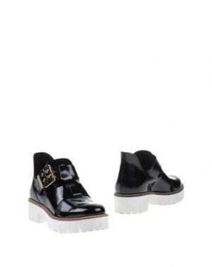 Ботинки LORENZO MARI. Цвет: черный