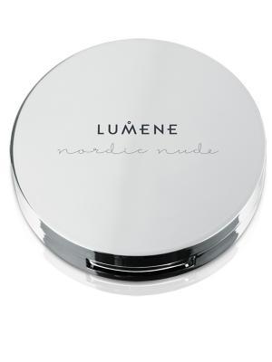Lumene Nordic Nude Невесомая компактная пудра № 1, оттенок светлый. Цвет: светло-бежевый