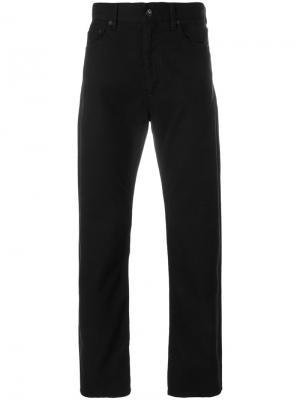 Прямые брюки Engineered Garments. Цвет: чёрный
