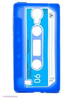 Чехол для Samsung Galaxy S4 Кассета (голубой) Kawaii Factory. Цвет: синий