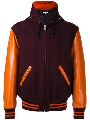 Спортивная куртка Replica Maison Margiela. Цвет: красный