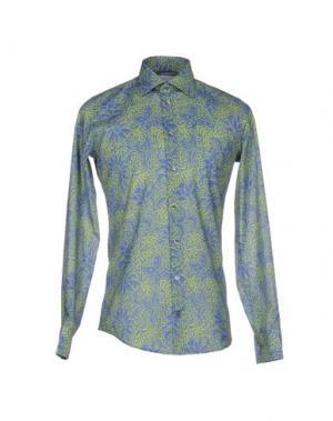 Pубашка RICHARD JAMES. Цвет: кислотно-зеленый