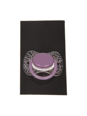 Пустышка Suavinex. Цвет: фиолетовый