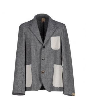 Пиджак MAESNA. Цвет: серый
