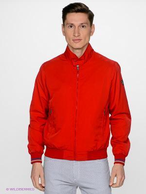 Куртка Navigare. Цвет: красный