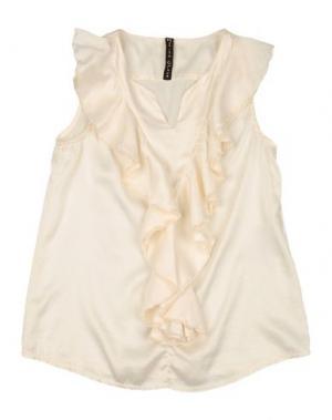Блузка MANILA GRACE. Цвет: слоновая кость