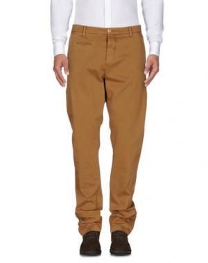 Повседневные брюки UNIFORM. Цвет: верблюжий
