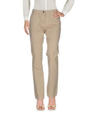 Повседневные брюки HARMONT&BLAINE. Цвет: бежевый