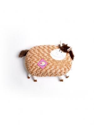 Мягкая игрушка Плюшка Лошадка 5.184.1-1 цвет бежевый Malvina. Цвет: бежевый