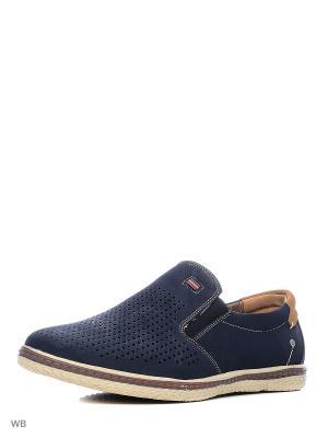 Ботинки Wilmar. Цвет: синий