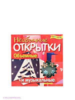 Музыкальные открытки Fun kits. Цвет: красный